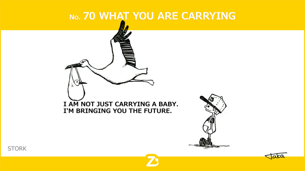 No. 70 WHAT YOU ARE CARRYING